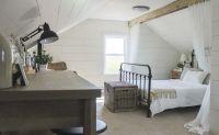 Casual vintage farmhouse bedroom ideas 32