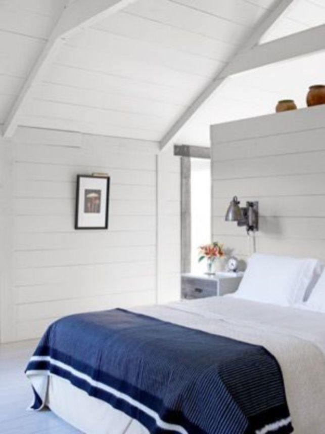 Casual vintage farmhouse bedroom ideas 40