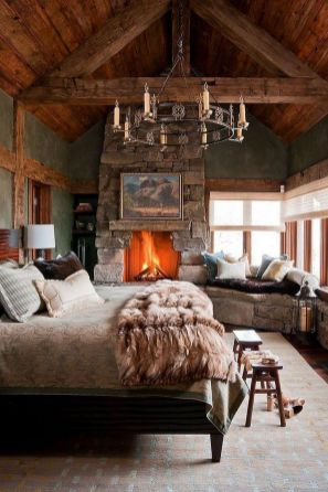 Casual vintage farmhouse bedroom ideas 41