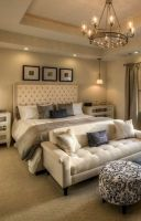 Cozy farmhouse master bedroom decoration ideas 22
