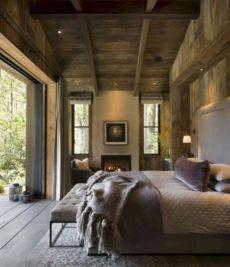 Cozy farmhouse master bedroom decoration ideas 27
