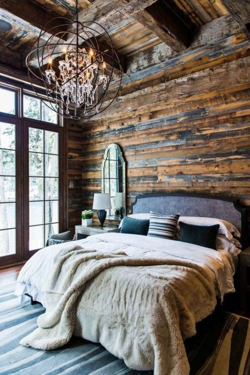 Cozy farmhouse master bedroom decoration ideas 41