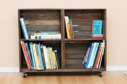Creative ideas for repurposing old crates that are worth stealing 06