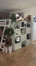 Creative ideas for repurposing old crates that are worth stealing 11