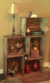 Creative ideas for repurposing old crates that are worth stealing 28