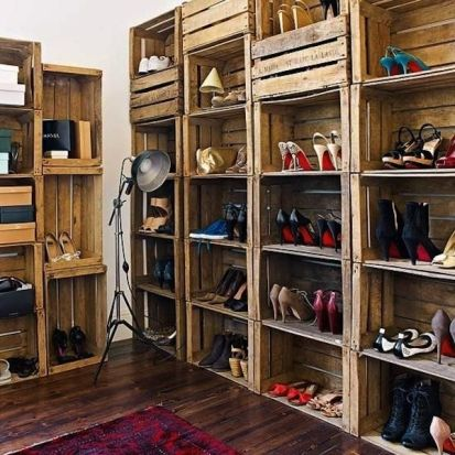 Creative ideas for repurposing old crates that are worth stealing 43
