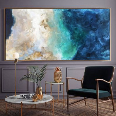 Fascinating striped walls living room designs ideas 01