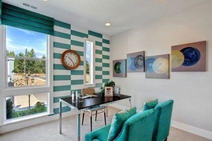 Fascinating striped walls living room designs ideas 03