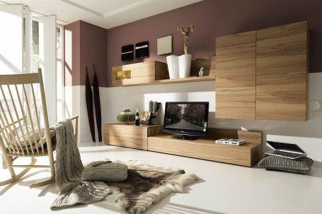 Fascinating striped walls living room designs ideas 06