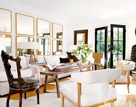 Fascinating striped walls living room designs ideas 22