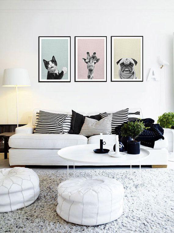Fascinating striped walls living room designs ideas 27