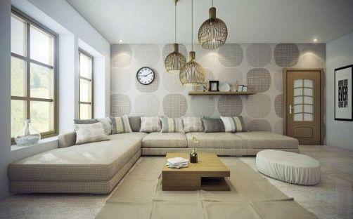 Fascinating striped walls living room designs ideas 31
