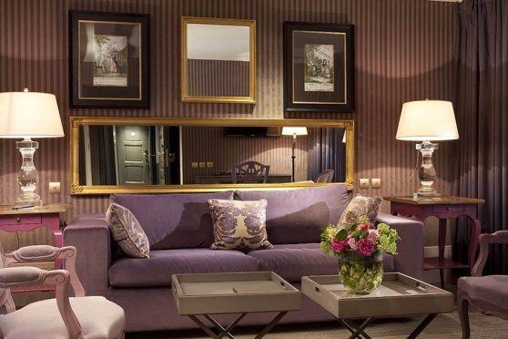 Fascinating striped walls living room designs ideas 36