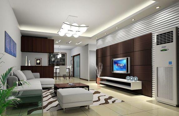 Fascinating striped walls living room designs ideas 37