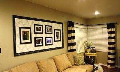 Fascinating striped walls living room designs ideas 43