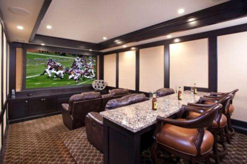 Impressive masculine game room decor ideas 21