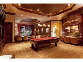 Impressive masculine game room decor ideas 29