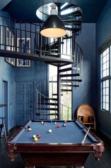 Impressive masculine game room decor ideas 31