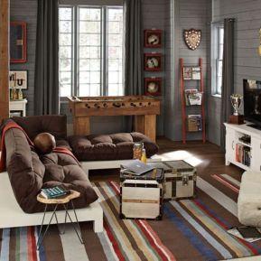 Impressive masculine game room decor ideas 39