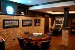 Impressive masculine game room decor ideas 46