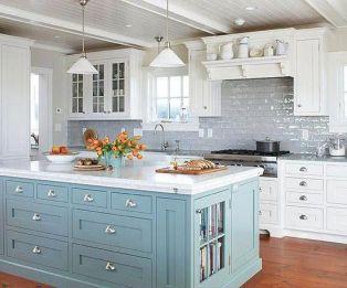 Inspiring coastal kitchen design ideas 03