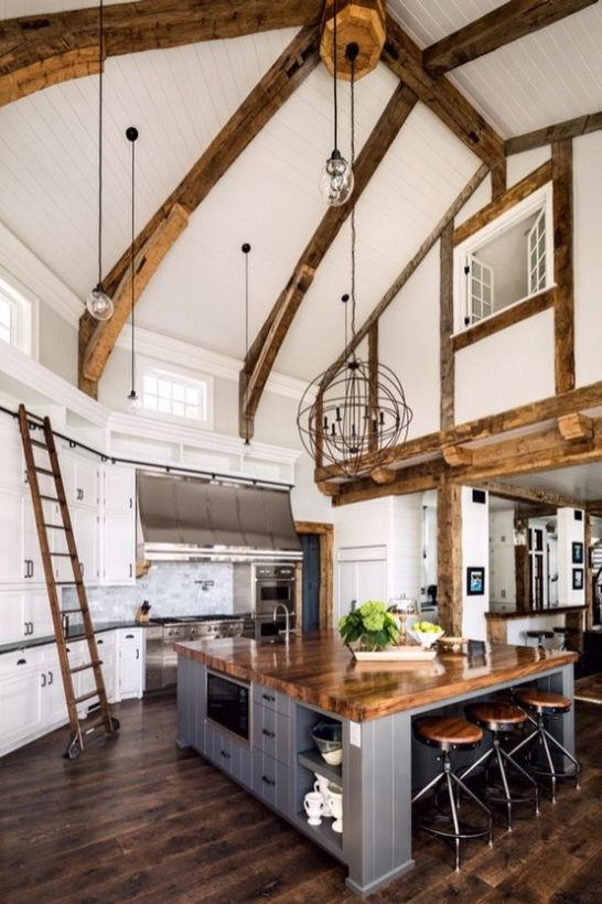 Inspiring coastal kitchen design ideas 42