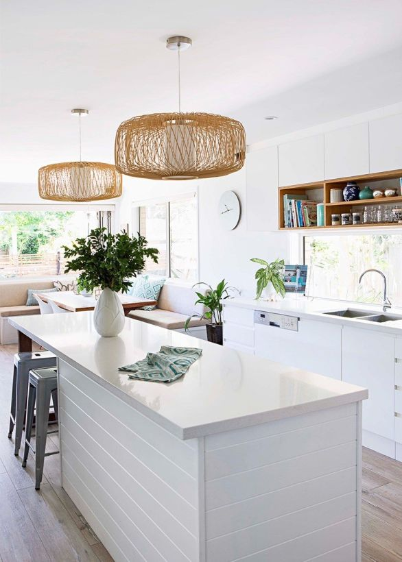 Inspiring coastal kitchen design ideas 43