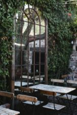 Inspiring outdoor garden wall mirrors ideas 12