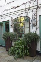Inspiring outdoor garden wall mirrors ideas 15
