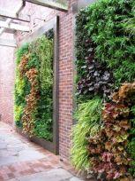 Inspiring outdoor garden wall mirrors ideas 16