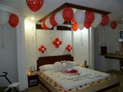 Inspiring valentine bedroom decor ideas for couples 01