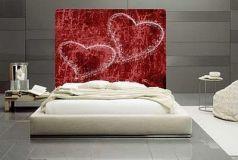 Inspiring valentine bedroom decor ideas for couples 34