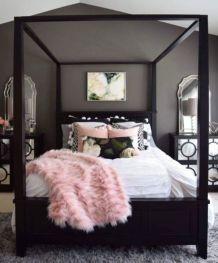 Lovely white bedroom decorating ideas for winter 05