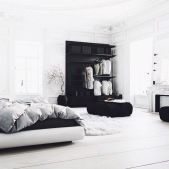 Lovely white bedroom decorating ideas for winter 11