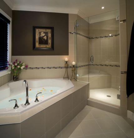 Luxurious bathroom designs ideas that exude luxury 06