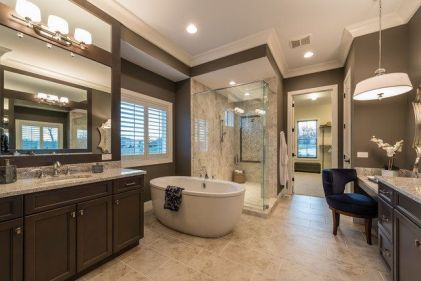Luxurious bathroom designs ideas that exude luxury 24