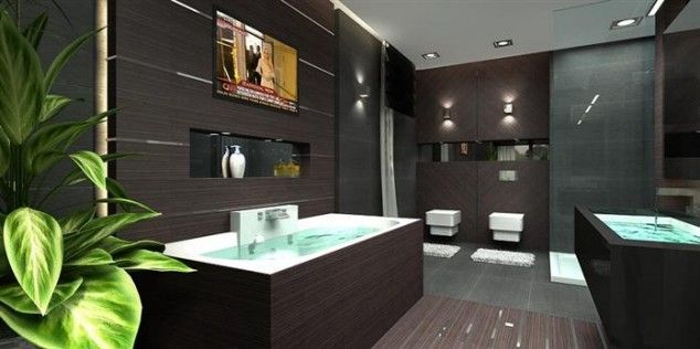 Luxurious bathroom designs ideas that exude luxury 28