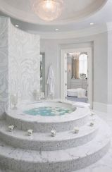 Luxurious bathroom designs ideas that exude luxury 34