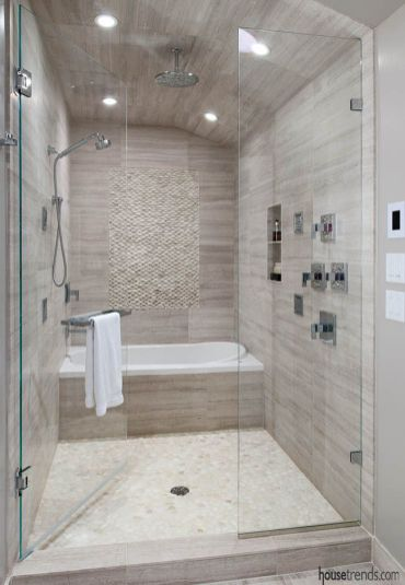 Luxurious bathroom designs ideas that exude luxury 39