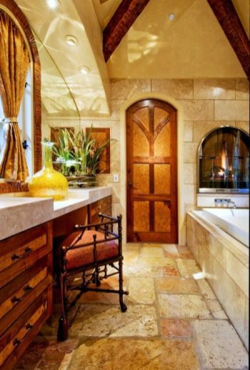 Luxurious bathroom designs ideas that exude luxury 43