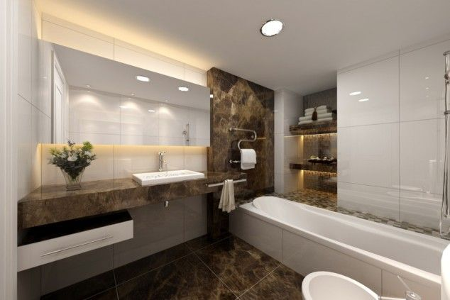 Luxurious bathroom designs ideas that exude luxury 44