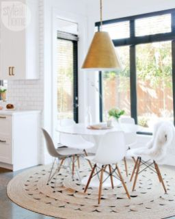 Modern scandinavian dining room chairs design ideas 14