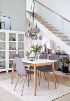 Modern scandinavian dining room chairs design ideas 25