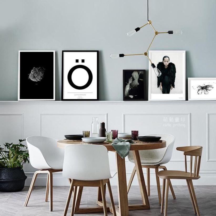 Modern scandinavian dining room chairs design ideas 30