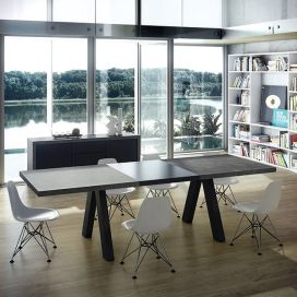 Perfect extandable dining table design ideas 06
