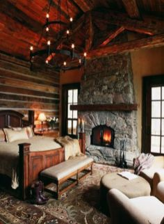 Romantic rustic bedroom ideas 23