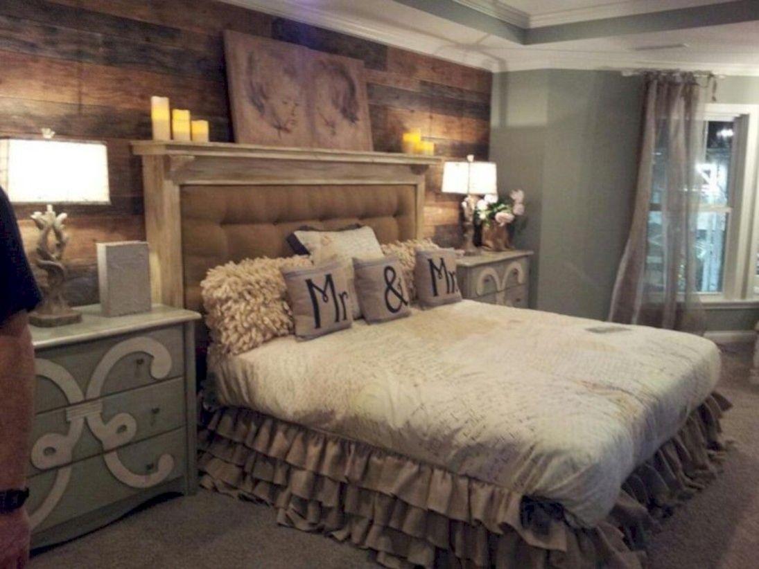 Romantic rustic bedroom ideas 37