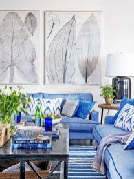Stylish coastal living room decoration ideas 03