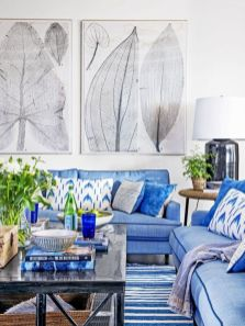 Stylish coastal living room decoration ideas 03