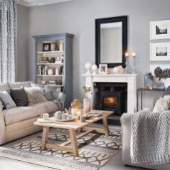 Stylish coastal living room decoration ideas 10